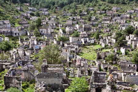 kayakoy: Old ancient city Kayakoy, Turkey.