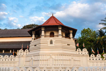 Sri Dalada Maligawa(Temple of the tooth) in the town of Kandy, Sri Lanka