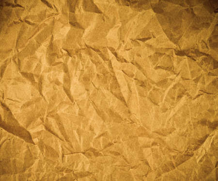 scrunch: Brown wrinkled paper as a background
