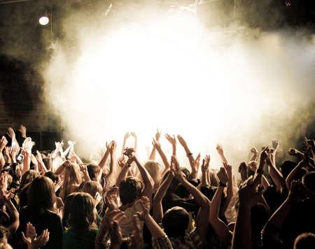 Foule de concert Banque d'images - 22268025