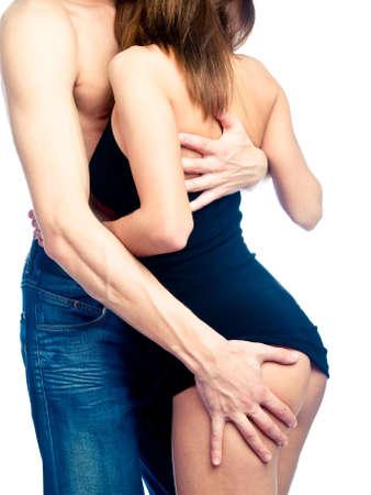 young couple sex: Гетеро пара, моменты близости Фото со стока