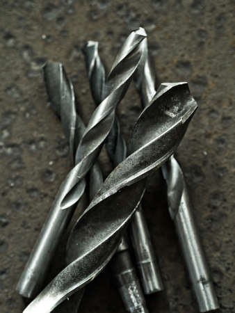 wornout: Worn-out drill bits