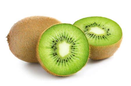 Kiwi geïsoleerd op witte achtergrond