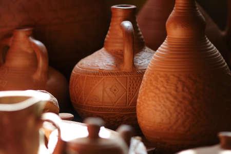 ollas de barro: Las ollas de barro en el estudio