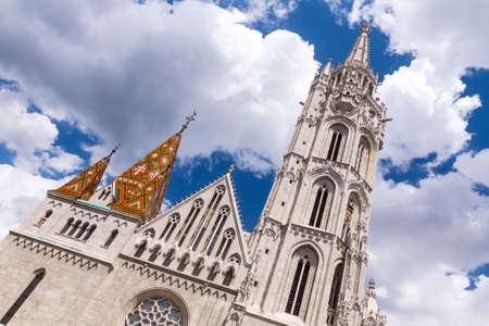 matthias: Matthias Church is a Roman Catholic church in the Romanesque style, located in Budapest, Hungary, in front of Fisherman