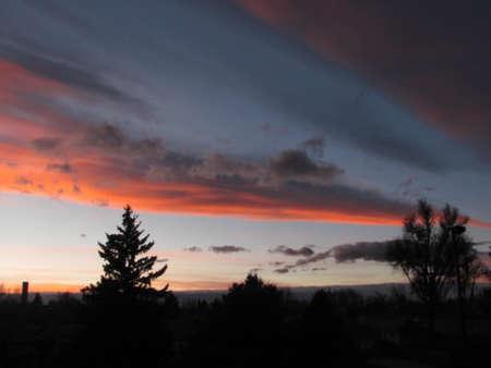 denver co: Sunset in Denver, CO