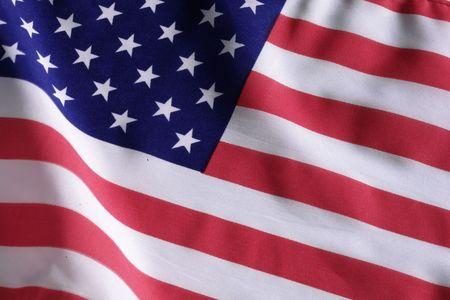 american flag fireworks: american flag Stock Photo