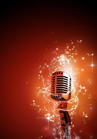 flyer musique: musique de fond f�te pour d�pliants et des affiches bo�te de nuit