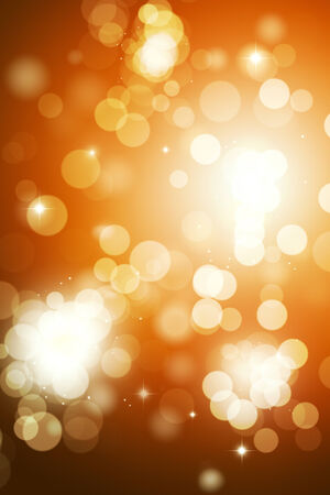 blurry lights: abstract bright golden background with blurry lights Archivio Fotografico