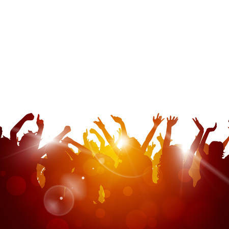 party music background for active sunny events Banco de Imagens - 31944353