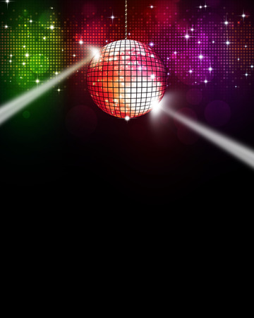 abstract multicolor music disco background for joyful events
