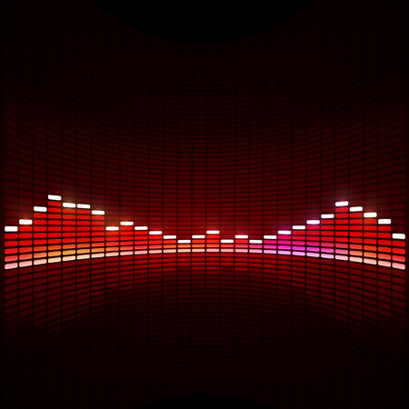 music equlizer background for active dance events