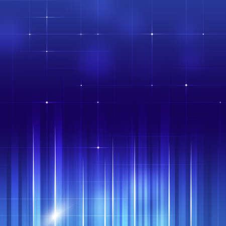 lineas verticales: resumen l�neas verticales tecnolog�a de negocios fondo azul Foto de archivo