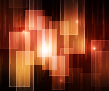 colorful background of square bokeh and lights