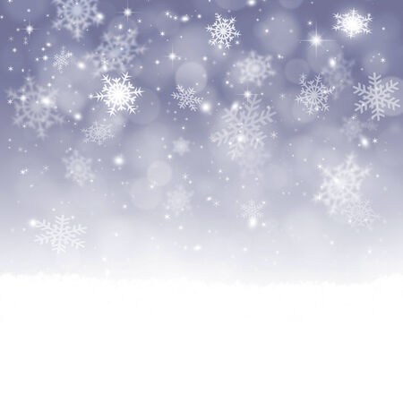 Winter snow background with xmas balls for christmas and new stock stock photo winter snow background with xmas balls for christmas and new year greeting cards m4hsunfo