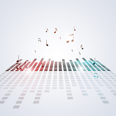 music equalizer background for active nighttime party