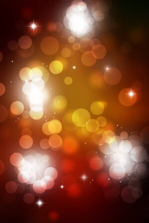 blurry lights: abstract bright multicolor background with blurry lights Stock Photo