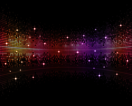 disco backdrop: abstract multicolor music disco party events backgroud