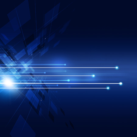 abstract business and technology concept communication background Stock Photo