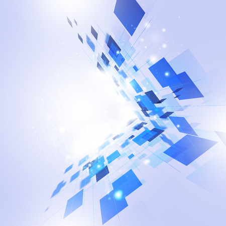 internet background: abstract business and technology concept bright communication background Stock Photo