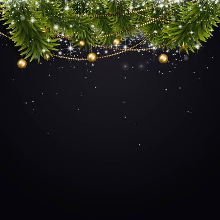 holiday celebrations: abstract holiday decoration night background with xmas celebrations