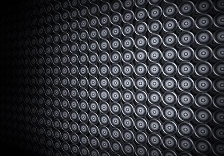 disco dancer: abstract grey music sound speakers party background