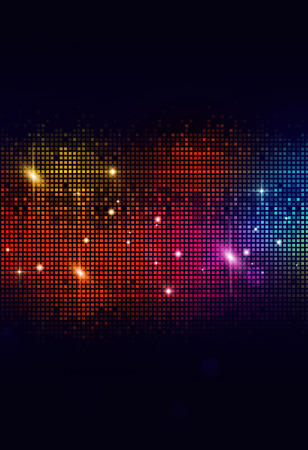 disco party music background for flyers and night club posters
