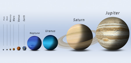 size: full size comparision of solar system planets