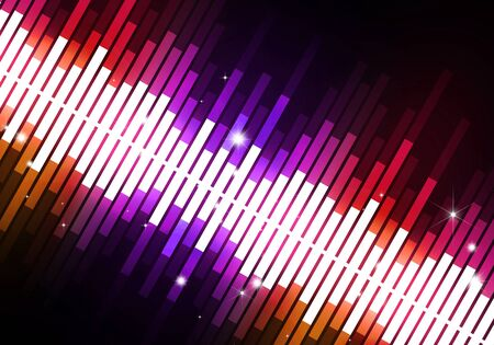 dancing club: abstract multicolor music equalizer background for party events Stock Photo