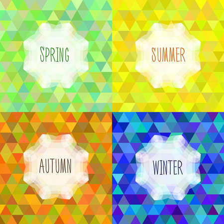 The theme of the four seasons of the year