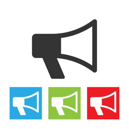 loudspeaker: Loudspeaker icon.