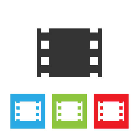 film tape: Film tape icon. Illustration