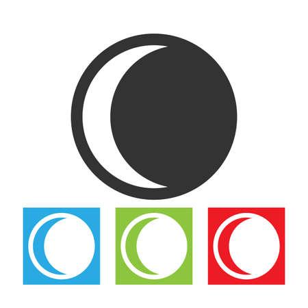 penumbra: Moon eclipse icon.