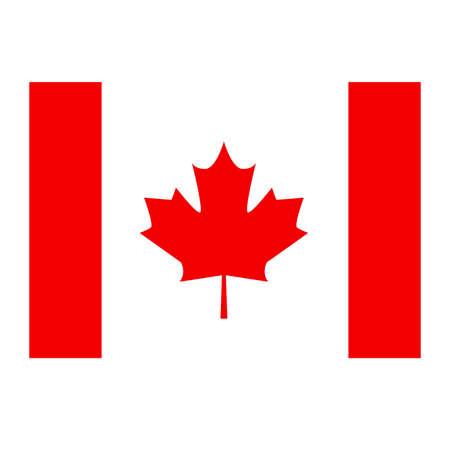 canadian flag: Flag of Canada. Maple Leaf. Canadian national flag.