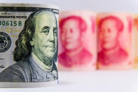 War trade between Yuan from China and Dollar American which its are the two biggest economic in the world. Both countries increase tax for tariff and barrier for commerce.