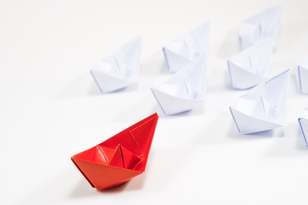 Leader will navigate correct and the best way to follower.