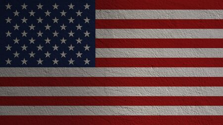 United States of America or USA flag. USA is established since 4th July 1776 which is called independence day. USA is land of democracy and freedom. Zdjęcie Seryjne