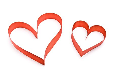 Red hearts Stock Photo - 5486540