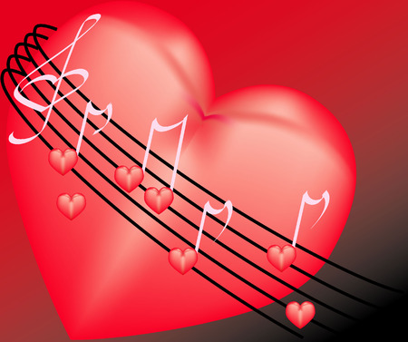 Sounds of the music in heart