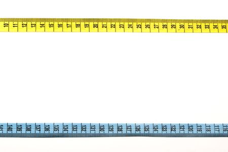 Tape measure bordering  photo