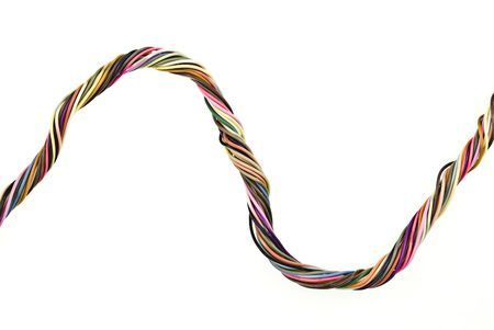 cabling:   Colorful cabling Stock Photo