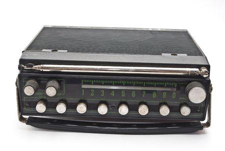 Old auto radio photo