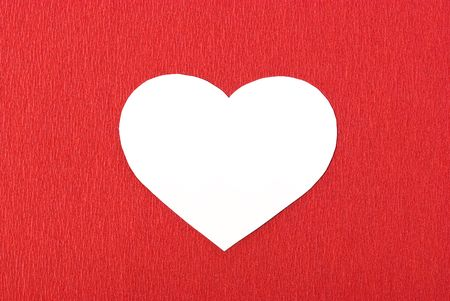 Heart in red background Stock Photo - 6219480
