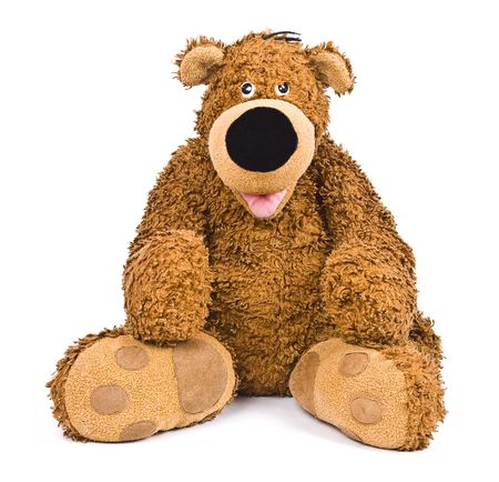 Brown bear toy Stock Photo - 6480490
