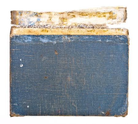 Blue cover old book photo