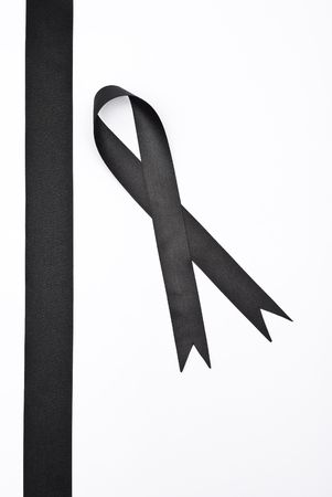Black ribbons Stock Photo - 7416550