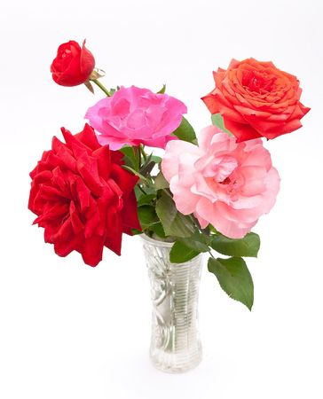 Bouquet of beautiful roses  photo