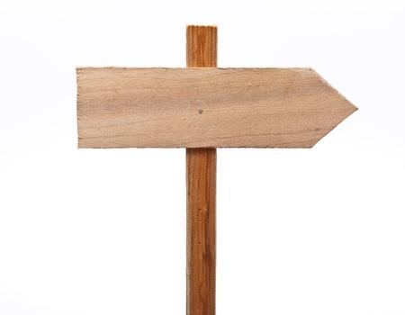omen: Wooden sign
