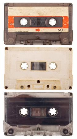 Old audio cassettes Stock Photo - 9656601