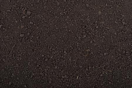 Black soil texture Stock Photo - 9855713